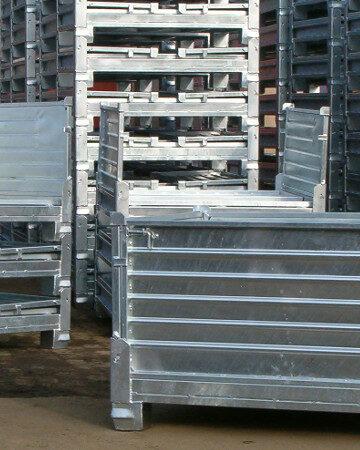 Pojemniki metalowe